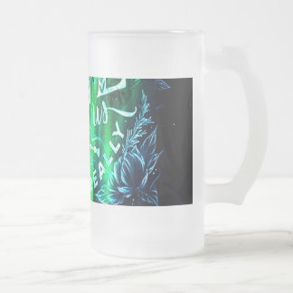 Song of the Mountains The Ones that Love Us Frosted Glass Beer Mug