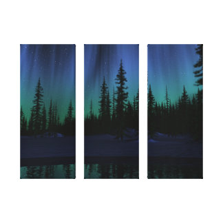 """""""Song of the Sky"""" Triptych Canvas"""