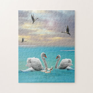 Song Of The White Swan, Jigsaw Puzzle