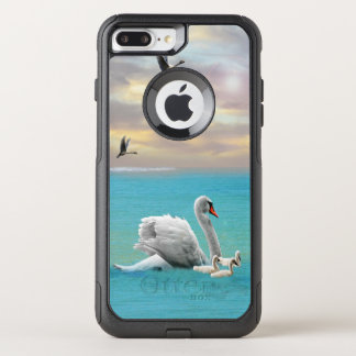 Song Of The White Swan, OtterBox Commuter iPhone 8 Plus/7 Plus Case