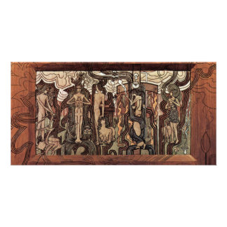 Song Of Time By Toorop Jan Best Quality Photo Greeting Card