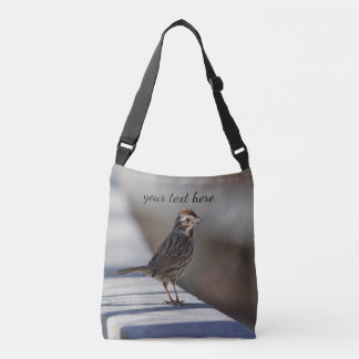 Song Sparrow Crossbody Bag