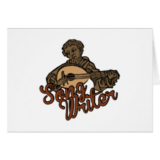 Song Writer Card