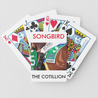 Songbird- Cotillion 16' Bicycle Playing Cards