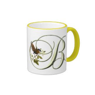 Songbird Initial B Mugs