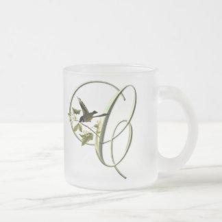 Songbird Initial C Coffee Mugs
