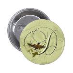 Songbird Initial D 6 Cm Round Badge