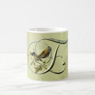 Songbird Initial E Coffee Mugs