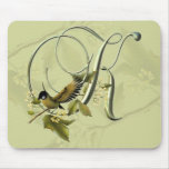 Songbird Initial K Mouse Mat