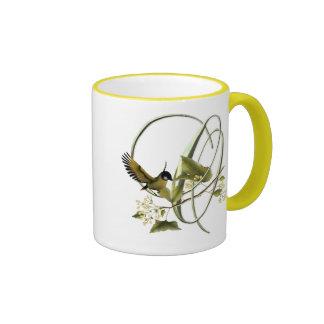 Songbird Initial O Mugs