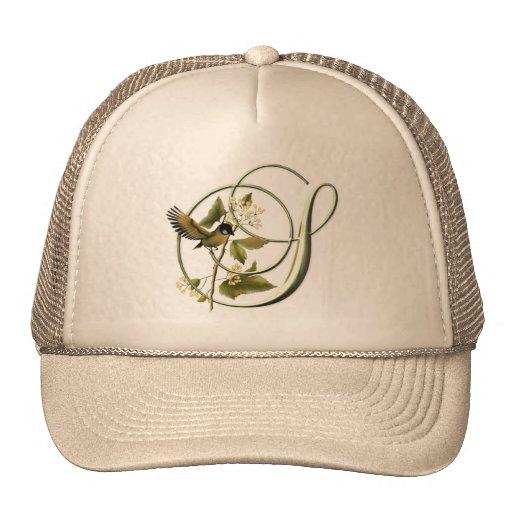Songbird Initial S Mesh Hats