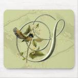 Songbird Initial S Mouse Mat