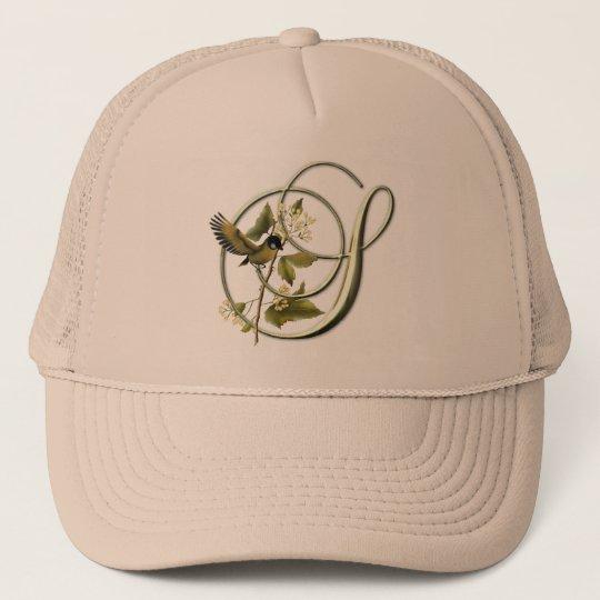 Songbird Initial S Trucker Hat