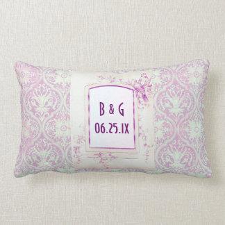 Songbird Shabby Chic WEDDING Gift Lumbar Pillow