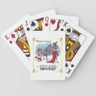 Songird Appearing....Playing Cards