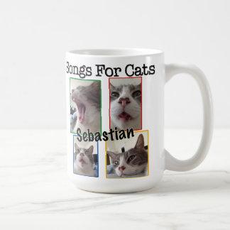 Songs For Cats - Sebastian Coffee Mug