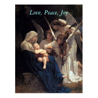 Songs of Angels, christmas postcards