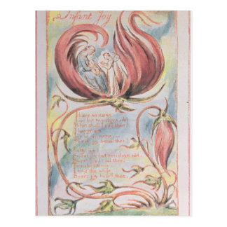 Songs of Innocence; Infant Joy, 1789 Postcard