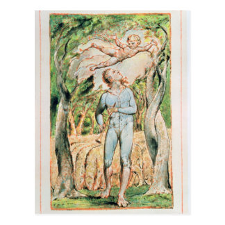 "Songs of Innocence; ""the Piper"" , 1789 Postcard"