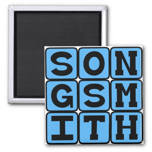 Songsmith, Crafter of Tunes Magnets