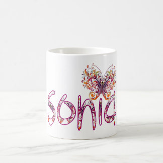 Sonia name coffee mug