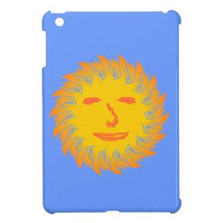 Sonne Gesicht sun face iPad Mini Hüllen