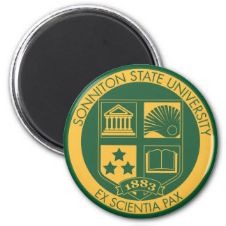 Sonniton State University Seal - Color Magnets