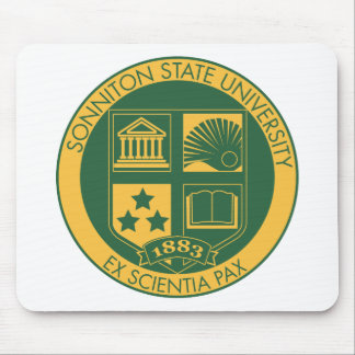 Sonniton State University Seal - Color Mouse Pad