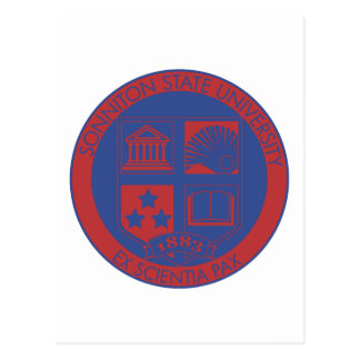 Sonniton State University Seal - Color Postcard