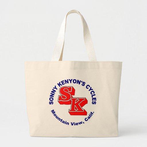 Sonny Kenyon Cycles logo Canvas Bags