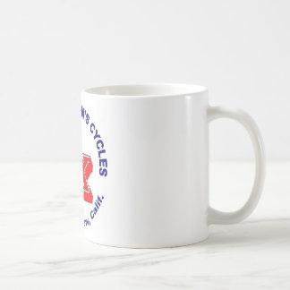 Sonny Kenyon Cycles logo Basic White Mug