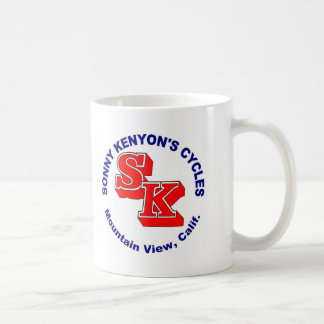 Sonny Kenyon Cycles logo Coffee Mug