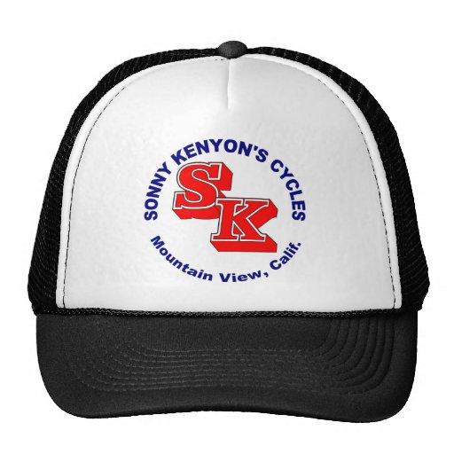 Sonny Kenyon Cycles logo Mesh Hats
