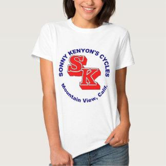 Sonny Kenyon Cycles logo Tees