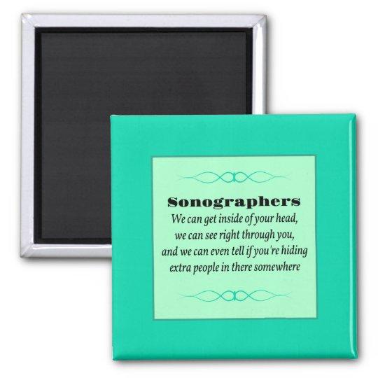 Sonographers Magnet