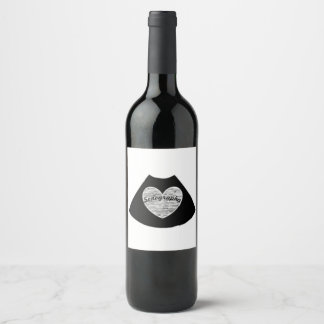 Sonography Wine Label