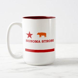 Sonoma Strong mug