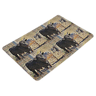 Sonoran Bull Floor Mat