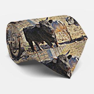 Sonoran Bulls Men's Tie