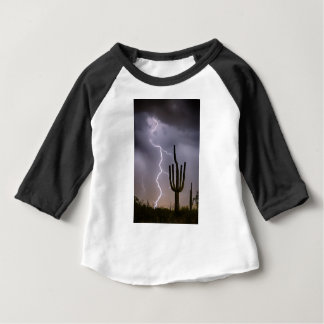 Sonoran Desert Monsoon Storming Baby T-Shirt