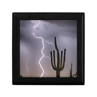 Sonoran Desert Monsoon Storming Gift Box