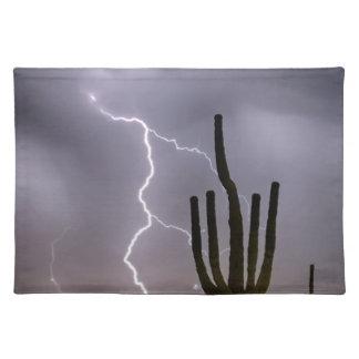 Sonoran Desert Monsoon Storming Placemat