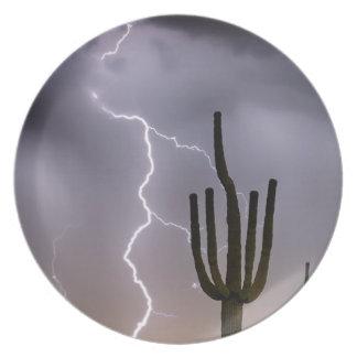 Sonoran Desert Monsoon Storming Plate