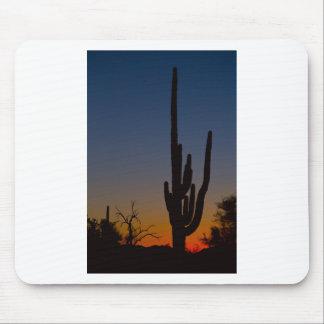 Sonoran Desert Sunrise Mouse Pads