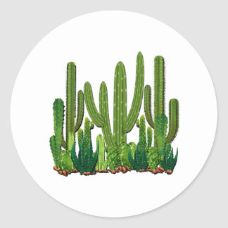 Sonoran Habitat Classic Round Sticker