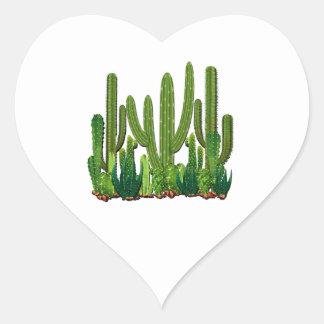 Sonoran Habitat Heart Sticker