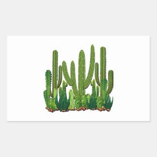 Sonoran Habitat Rectangular Sticker