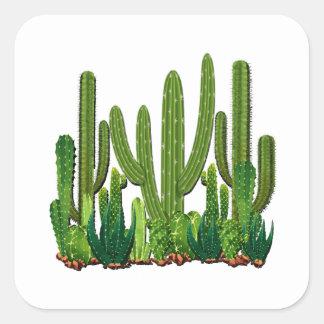 Sonoran Habitat Square Sticker