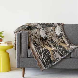 Sonoran Squirrel Throw Blanket