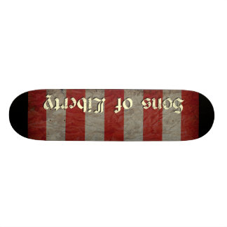Sons of Liberty Flag Skate Board Decks